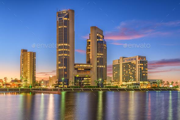 Corpus Christi, Texas, USA Skyline - Stock Photo - Images