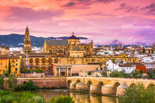 Cordoba, Spain Skyline - Stock Photo - Images