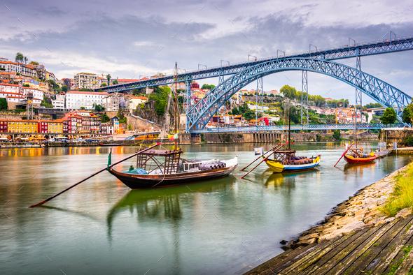 Porto, Portugal River View - Stock Photo - Images
