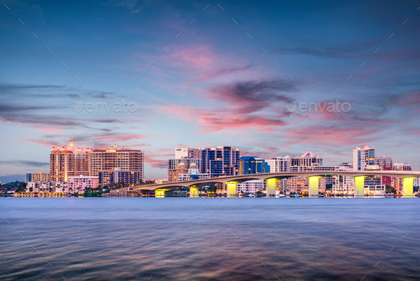 Sarasota, Florida, USA - Stock Photo - Images
