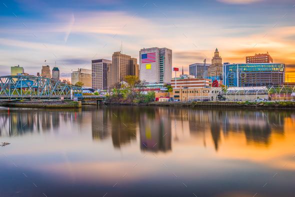 Newark, New Jersey, USA Skyline - Stock Photo - Images