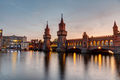 The River Spree and the Oberbaumbruecke in Berlin - PhotoDune Item for Sale