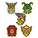 Norse Gods Mascot Collection - GraphicRiver Item for Sale