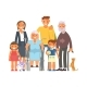 Big Family Portrait - GraphicRiver Item for Sale