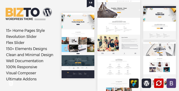 BizTo – MultiPurpose WordPress Theme