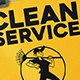 Clean Service Flyer - GraphicRiver Item for Sale