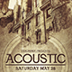 Acoustic Vintage Flyer - GraphicRiver Item for Sale