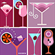 Cocktail Mix Pop Art Collage - GraphicRiver Item for Sale