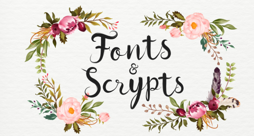 Fonts & Scrypts