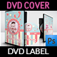 Baby Shower Party DVD Cover and Label Template Vol.9