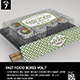 Fast Food Boxes Vol.7:Take Out Packaging Mock Ups - GraphicRiver Item for Sale