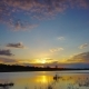 Landscape with Sunset over Lake - VideoHive Item for Sale