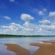 Clouds over River - VideoHive Item for Sale