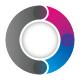 Circular O Letter Logo