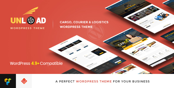 Unload - Cargo, Shipping, Logistics, Trucking, Warehouse & Transport WordPress Theme