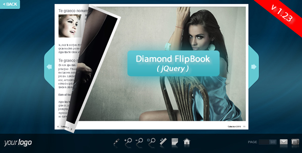 Diamond FlipBook - jQuery - CodeCanyon Item for Sale