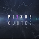 Plexus Quotes - VideoHive Item for Sale