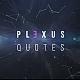 Plexus Quotes - VideoHive Item for Sale