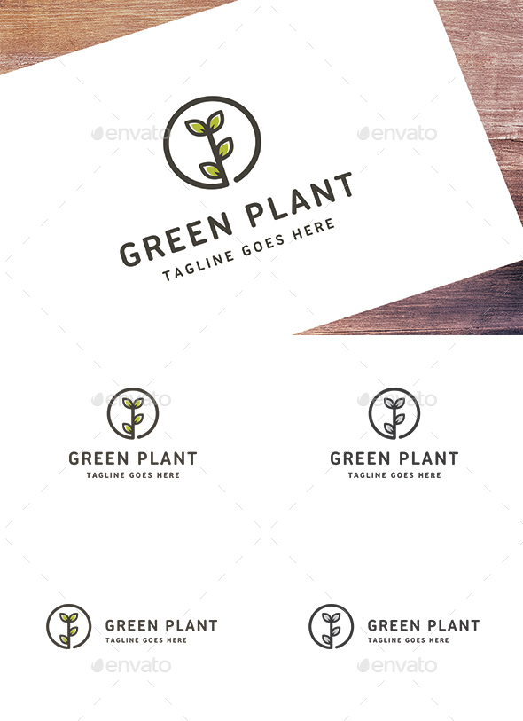Green Plant - Nature Logo Templates