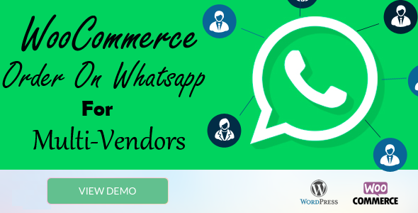 WooCommerce Order On Whatsapp for Multi Vendor            Nulled