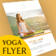 Yoga Flyer Double Sided - GraphicRiver Item for Sale