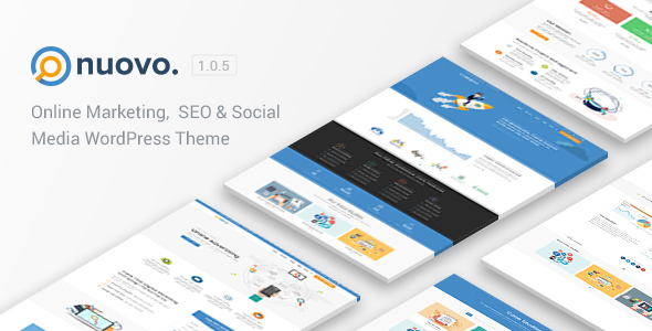 Image of Nuovo - Social Media, Digital Marketing Agency, SEO WordPress Theme
