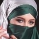Portrait of a Muslim Woman in National Clothes - VideoHive Item for Sale