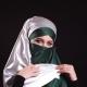 Portrait Beautiful Muslim Girl in Hijab Looking in Camera - VideoHive Item for Sale