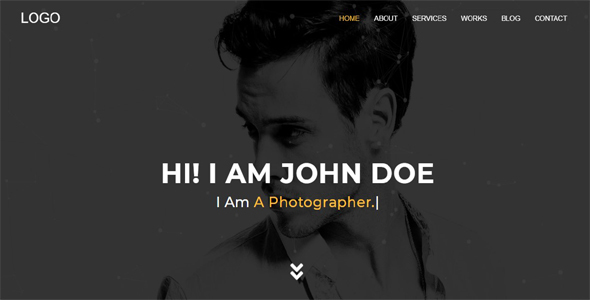 Explorer - Creative Portfolio One Page - Portfolio Creative