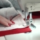 Woman Sews on a Sewing Machine. Female Hands - VideoHive Item for Sale