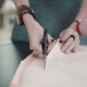 Woman Cuts Fabric with Scissors for Cutting - VideoHive Item for Sale