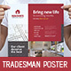 Tradesman Poster Template - GraphicRiver Item for Sale