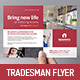 Tradesman Flyer Template - GraphicRiver Item for Sale