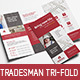 Tradesman Tri-Fold Brochure Template - GraphicRiver Item for Sale