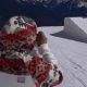 Man Filming Snowboarders with Action Camera - VideoHive Item for Sale