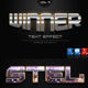 Winner Text Effect Styles Vol 9 - GraphicRiver Item for Sale