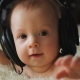 Little Baby with Headphones - VideoHive Item for Sale
