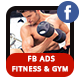 Fitness and Gym Ad Banners - AR