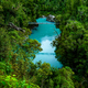 New Zealand Tourism Hokitika Gorge Portrait from High - PhotoDune Item for Sale