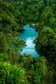 New Zealand Tourism Hokitika Gorge Portrait from High - PhotoDune Item for Sale