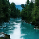 New Zealand Tourism Hokitika Gorge Wide Landscape with Trees - PhotoDune Item for Sale