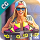 MicroPro Cartoon Oil  Photoshop Action - GraphicRiver Item for Sale