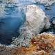 New Zealand Tourism Rotorua Boiling Mud with Red Lichen - PhotoDune Item for Sale