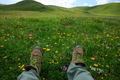 Hiking in beautiful flowers - PhotoDune Item for Sale