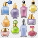 Perfume Vector Perfumed Aroma in Glass Bottle - GraphicRiver Item for Sale