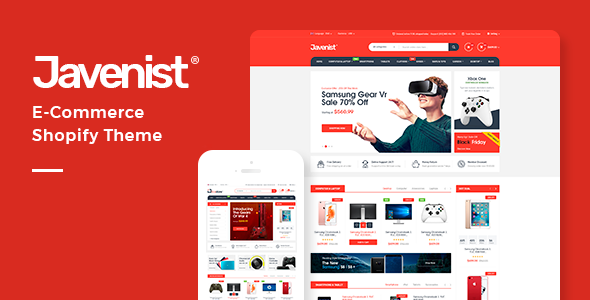 Image of Javenist - eCommerce Shopify Theme