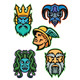 Greek Mythology Gods Mascot Collection - GraphicRiver Item for Sale