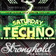 Download Techno Event Flyer Template from GraphicRiver