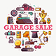 Garage Sale or Flea Market Announcement Card - GraphicRiver Item for Sale