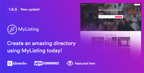 Image of MyListing - Directory & Listing WordPress Theme